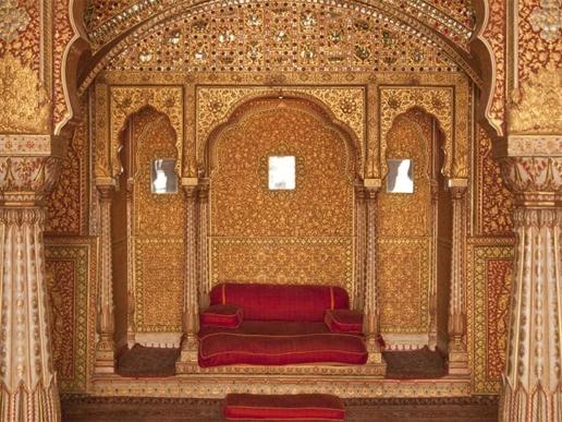 Palace, Maharajah of Bikaner, Rajasthan