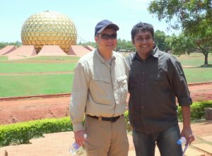 SS with Ang Lee - Matrimandir - LOP First Scout
