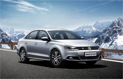 VW Jetta - Khardun La Pass, Ladakh